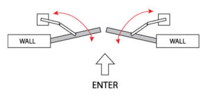 dual swing community gate systems