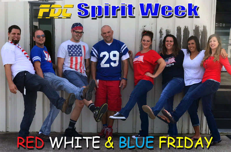 Spirit Week Red White Amp Blue Friday Fdc Access